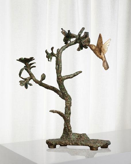 Hummingbird Verdi Sculpture