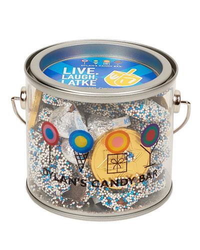 Hanukkah Candy Paint Can