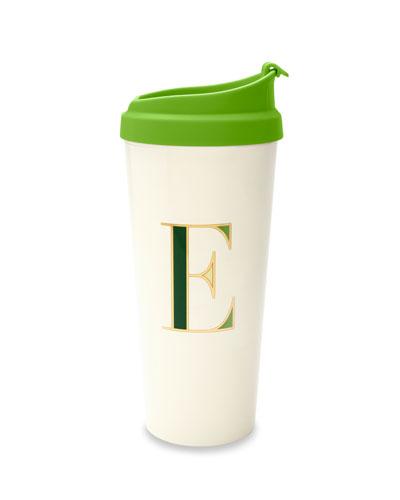 thermal e initial travel mug