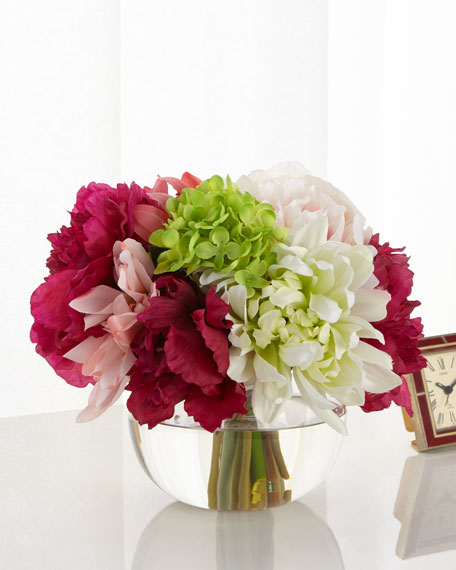 John-Richard Collection Raspberry Delight Floral Arrangement