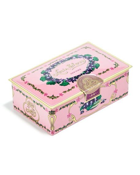 Orchid Two-Piece Chocolate Truffle Tin