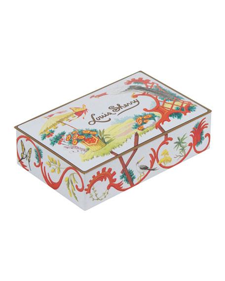 Louis Sherry Jardin Chinois 12-Piece Assorted Chocolate Truffle