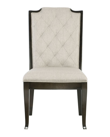 Sutton House Tufted Dining Side Chairs (Pair)