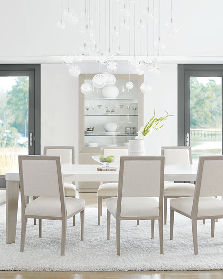 Axiom Dining Table with Two Leaves
