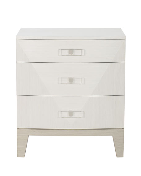 Axiom Small 3-Drawer Nightstand