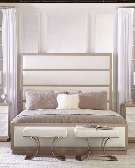 Axiom Upholstered Panel King Bed