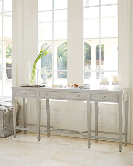 Criteria 3-Drawer Console Table