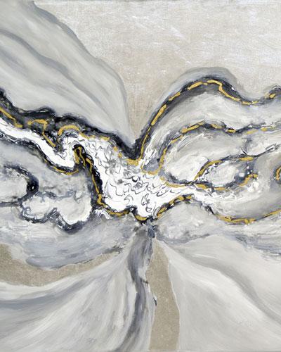 Waterflow Canvas Wall Art