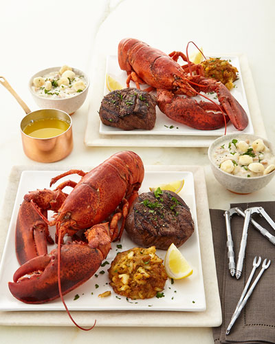 Live Lobster Dinner For 2