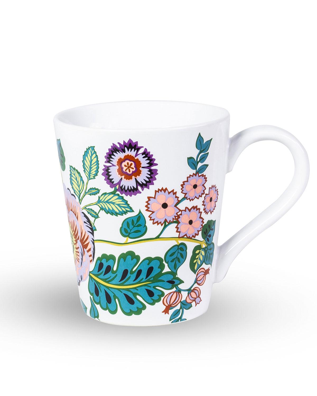 Vera Bradleyvines Floral Ceramic Mug