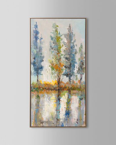 Fachuans Vibrant Timber Oil Painting on Canvas Art
