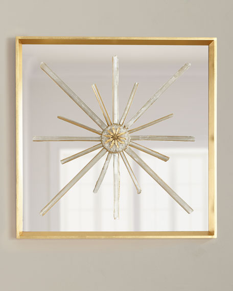 John-Richard Collection Star Crossed Circle Wall Decor