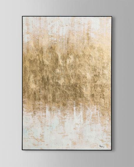 Golden Mist Wall Art By Bevis