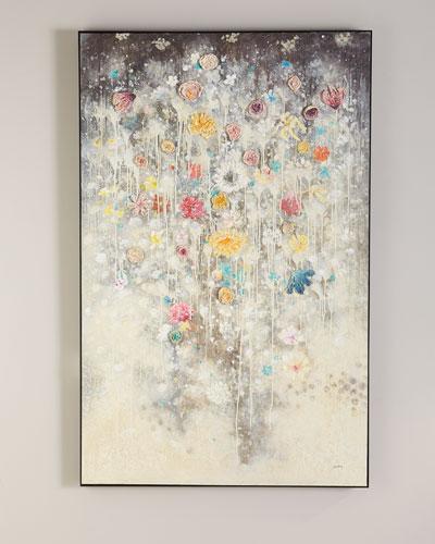 Blossom Mist Wall Art by Ja Ding