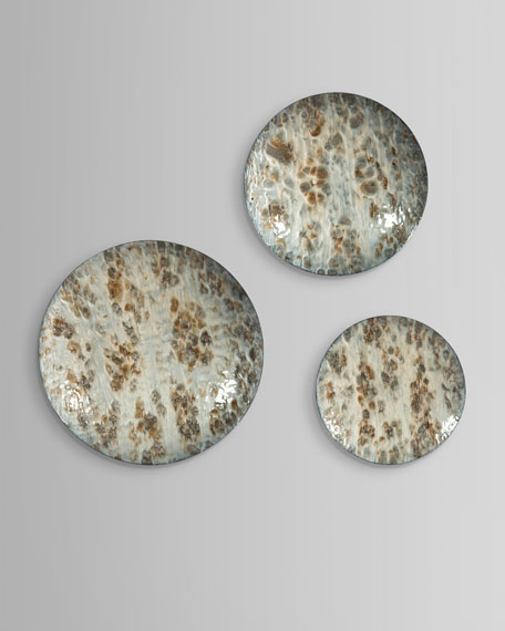 John-Richard Collection Moonlight Disks Wall Decor, Set of