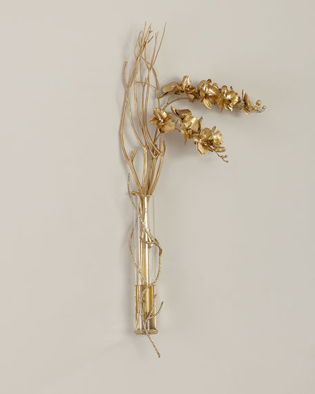 Golden Branches Wall Decor