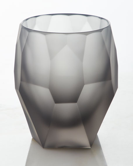 Milly Large Acrylic Tumbler, Grey Frost