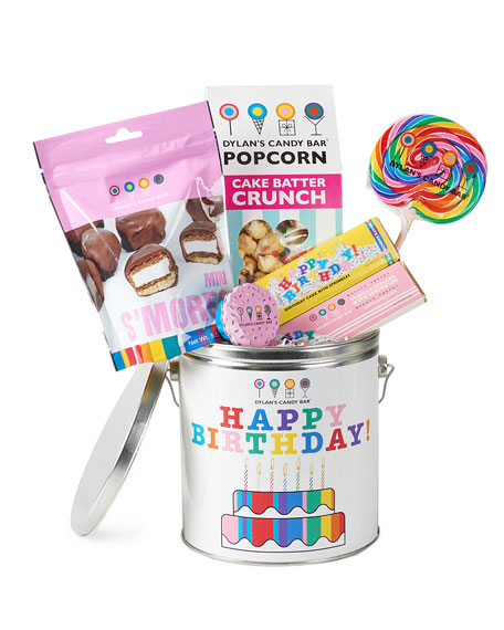 Dylan's Candy Bar Happy Birthday Bucket