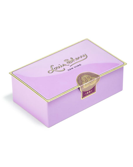 Louis Sherry Amethyst Two-Piece Chocolate Truffle Tin