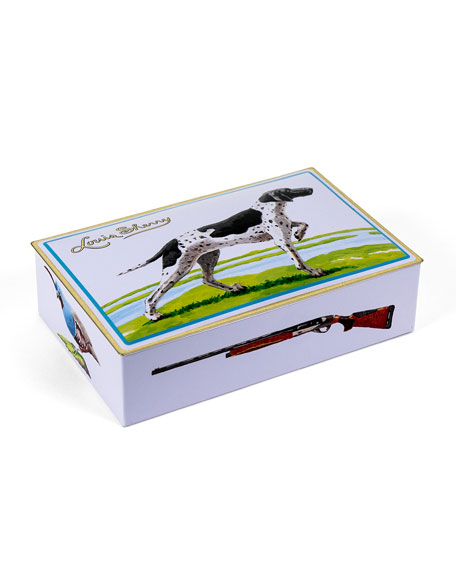 Louis Sherry Bird Dog Two-Piece Chocolate Truffle Tin