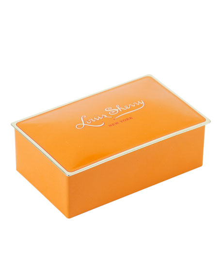 Louis Sherry Tangerine Two-Piece Chocolate Truffle Tin
