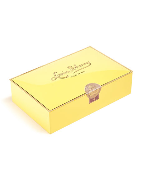 Louis Sherry Canary 12-Piece Assorted Chocolate Truffle Tin