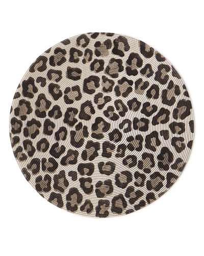 Mod Leopard Round Placemat