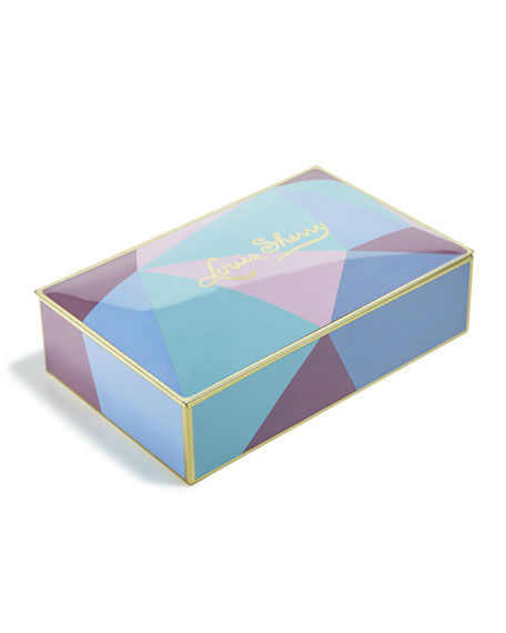 Cubist 12-Piece Assorted Chocolate Truffle Tin