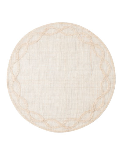 Tuileries Garden Placemat, Natural