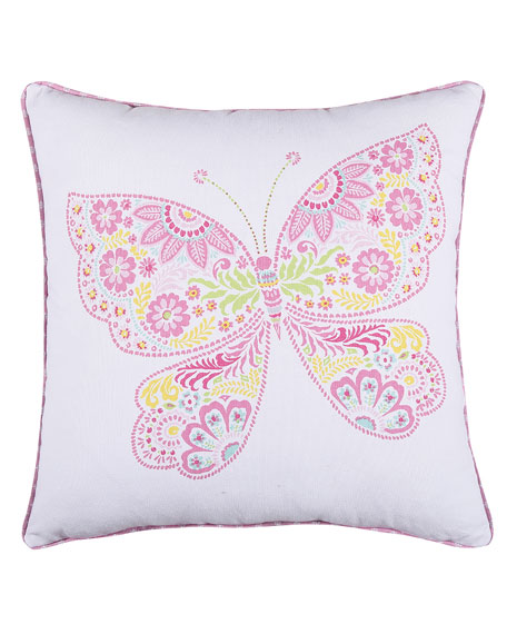 Kids' Kama Butterfly Pillow