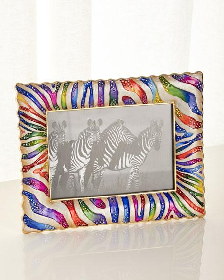 "Zebra Frame, 5"" x 7"""