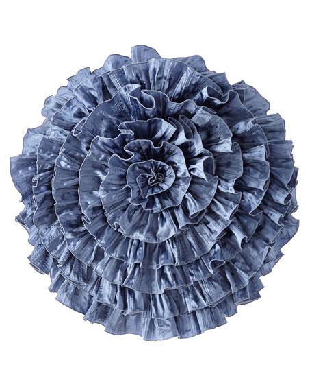 Charmeuse Seaflower Pillow