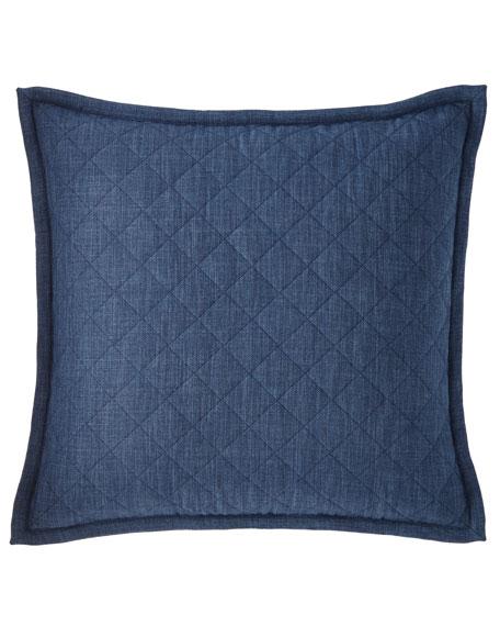Faux-Linen Queen Coverlet Set