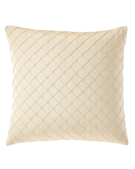 Gabriella Diamond-Pattern Pillow