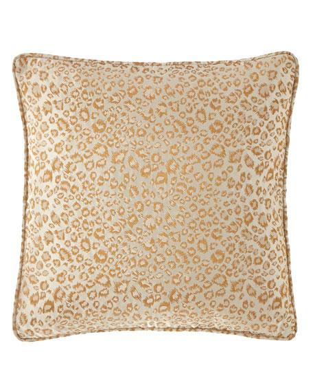 Margeau Leopard Decorative Pillow