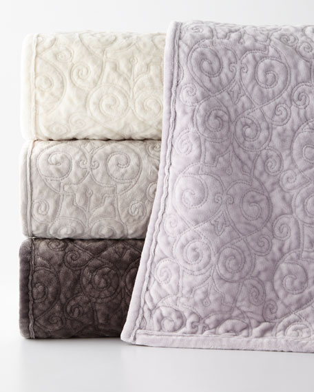King Regent Velvet Coverlet