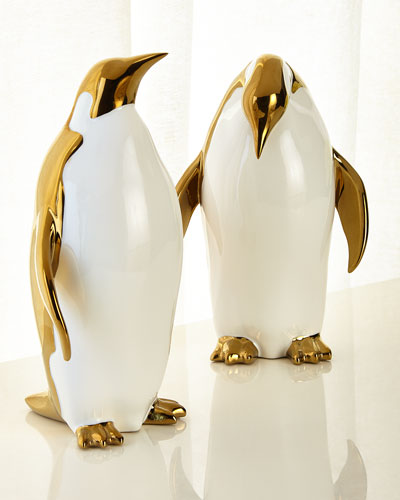 Penguin Objects Decor  Set of 2