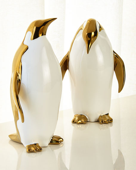 Penguin Objects Decor, Set of 2