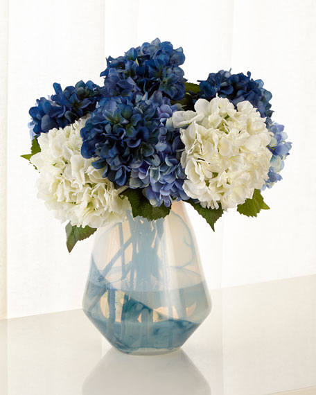 John-Richard Collection Blue Skies Floral Arrangement