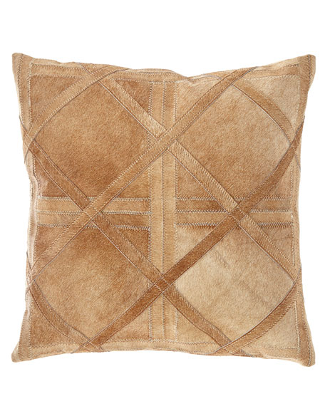 Hair Hide Square Pillow