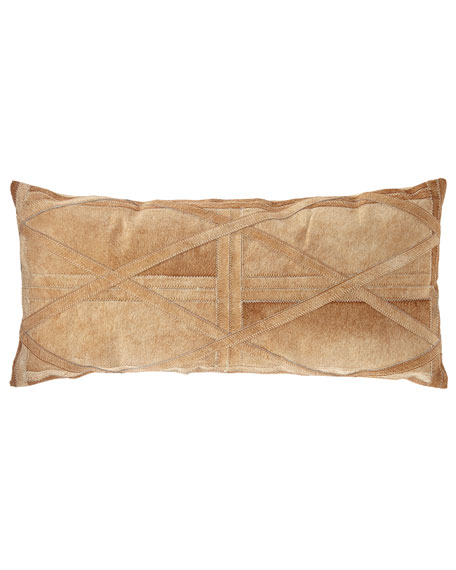 Nourison Hair Hide Oblong Pillow