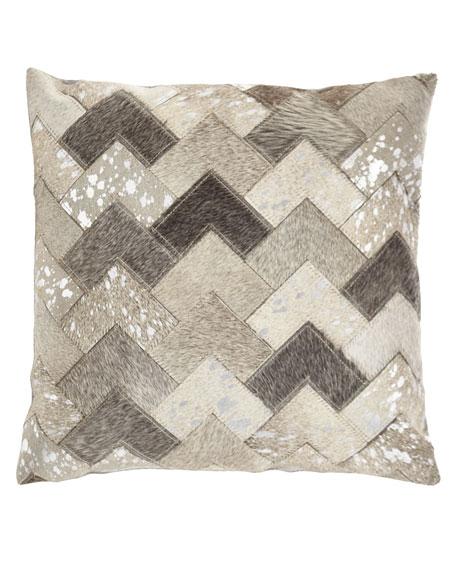 Hair Hide Arrows Pillow