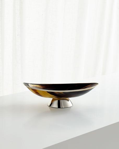 Cerith Decorative Horn Tray - Small