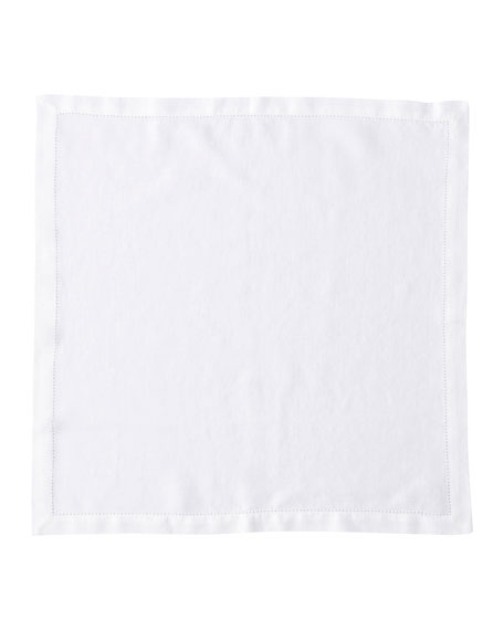 Heirloom Linen Napkin, White