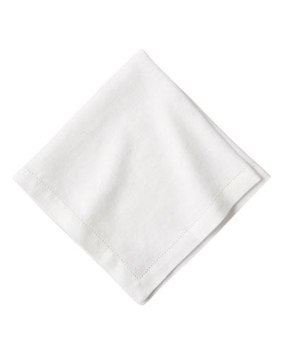 Heirloom Linen Napkin  White
