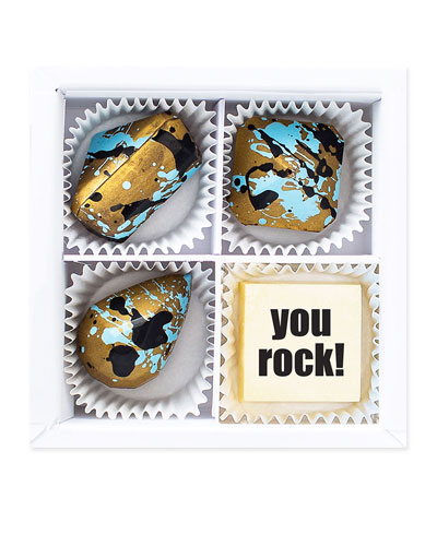 Mini You Rock Chocolate Gift Box