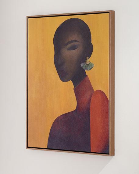 """Ines"" Giclee Canvas Wall Art by Michel Smith Boyd"