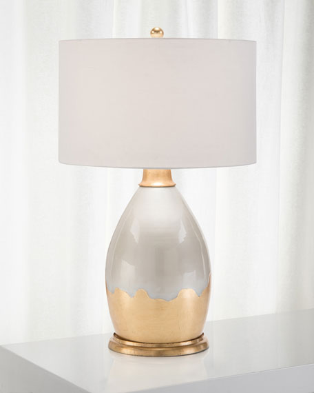 John-Richard Collection Eggshell Lamp
