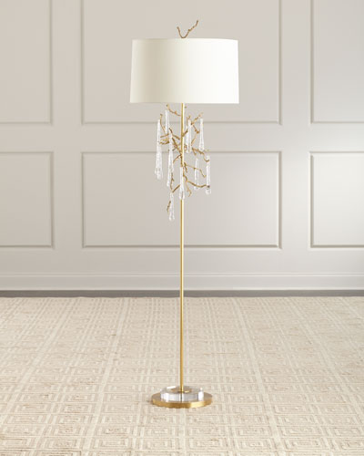 Loor Crystal Drop Floor Lamp
