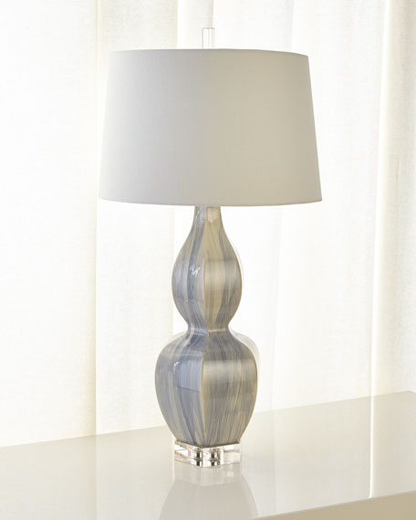 Ceramic Urn Table Lamp